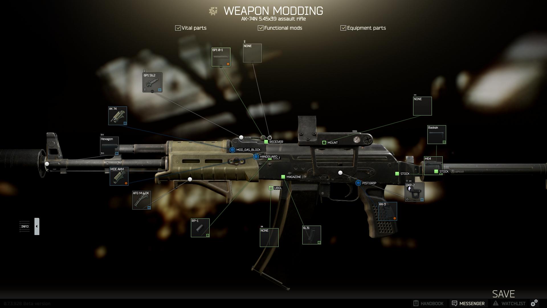 Ein Setup für AK-74N Ergonimics & Accuracy