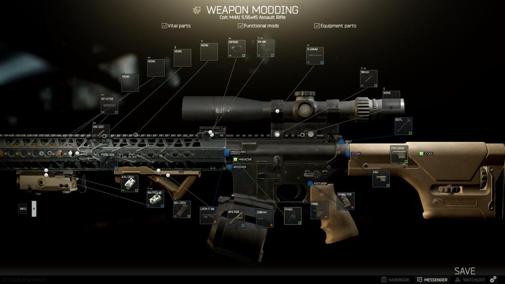 Bestes Setup für die M4A1 Distanz und Nahkampf