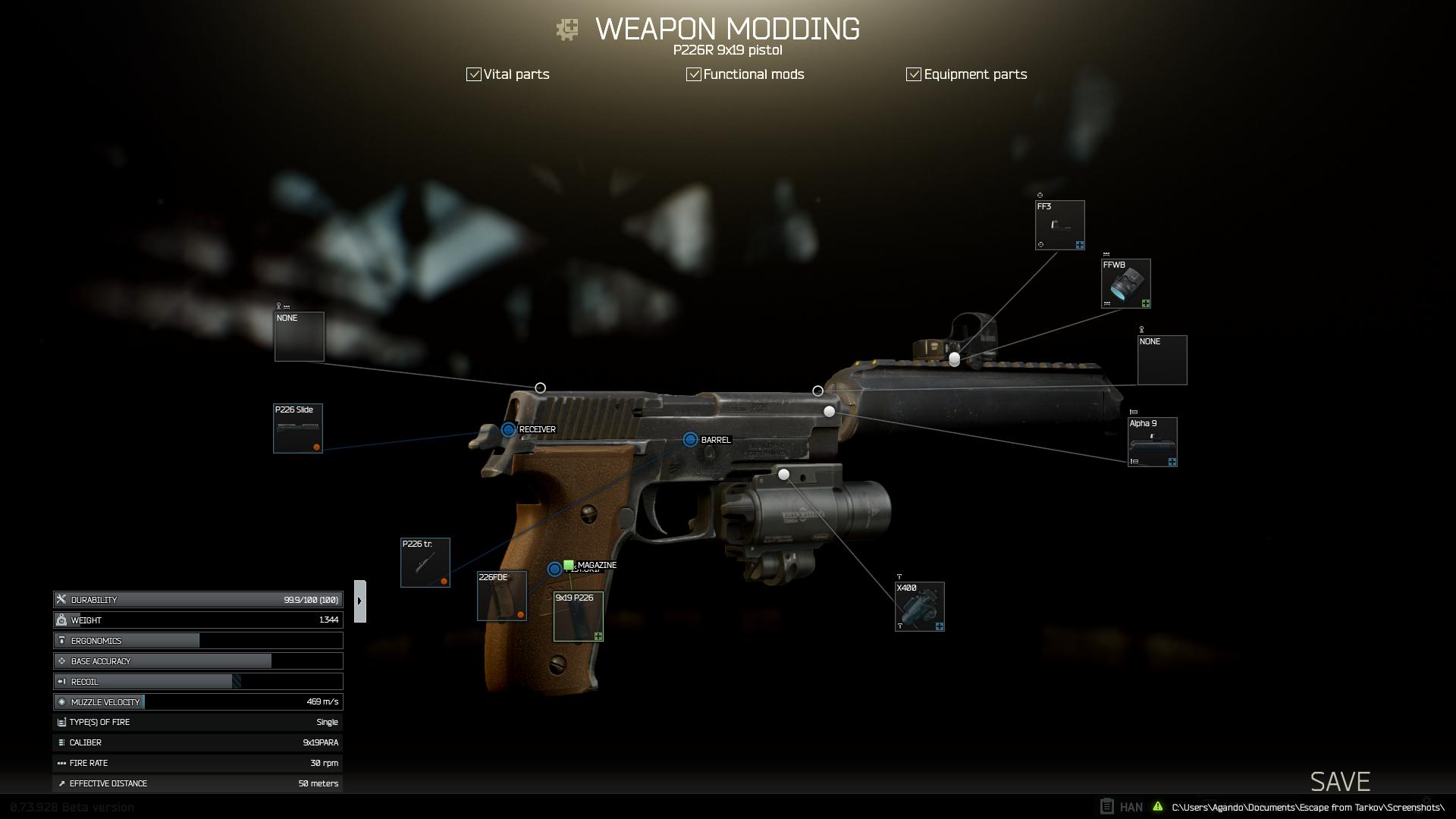 P226R Modding