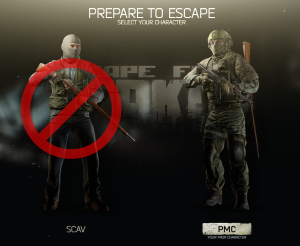 Don't play as SCAV (EFT Tutorials Skills)