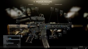 "M4A1 für Mission ""Gunsmith Part 4"" des Mechanikers"