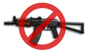 Don't play the AKS-74U