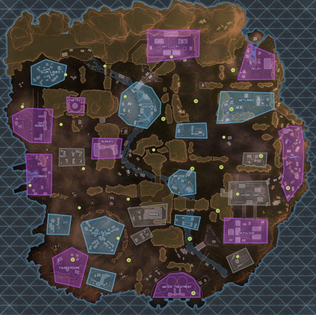 Apex Legends High Tier Map
